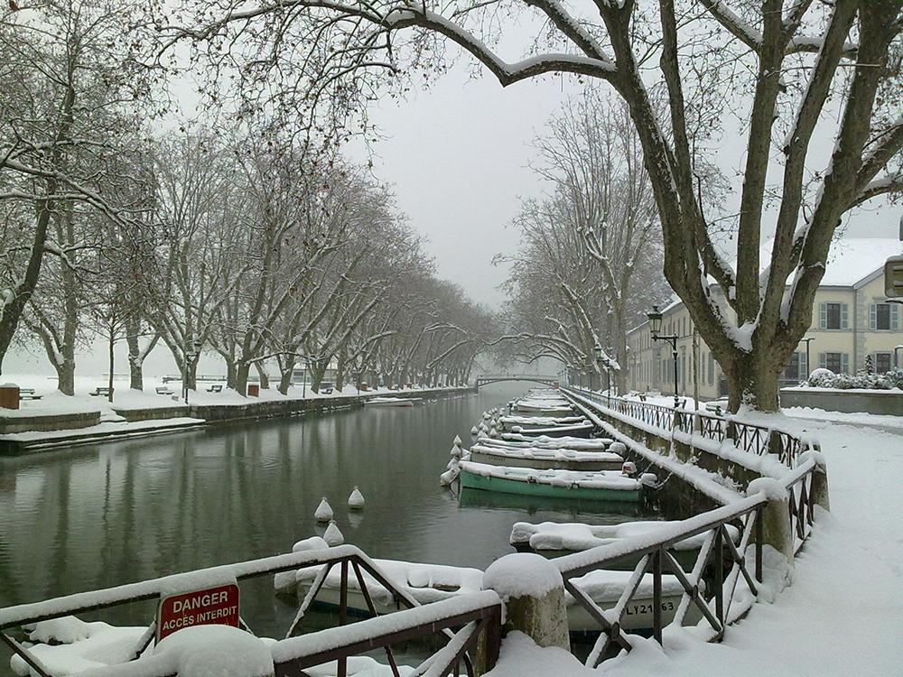 Annecy Pont des Amours - Canal du Vassé